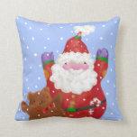 Snow Happy pillow