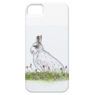 Snow Hare Barely There iPhone 5 Case