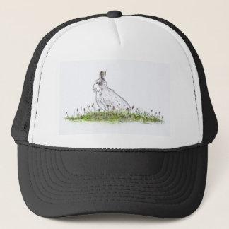 Snow Hare Trucker Hat
