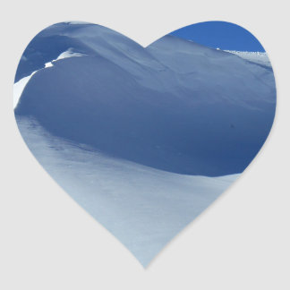 Snow Heart Sticker