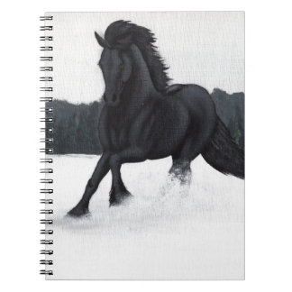Snow Horse Collection Notebooks
