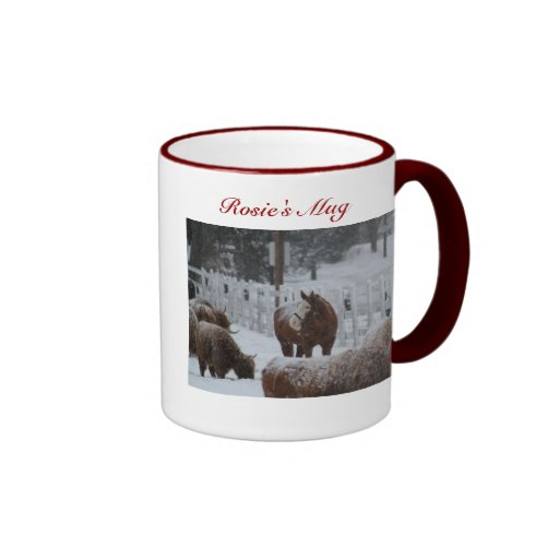 Snow Horse, Rosie's Mug