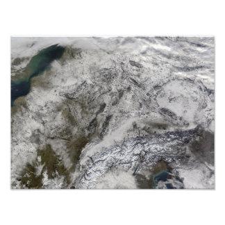 Snow in Europe Photo Print