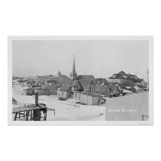 Snow in Nome Alaska 1916 Posters