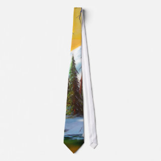 Snow in the Forest Tie
