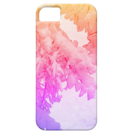 Snow iPhone SE + iPhone 5/5S, Barely There Case For The iPhone 5