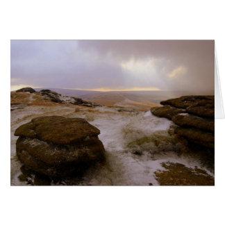 'Snow Kised Steeperton' Greeting Card