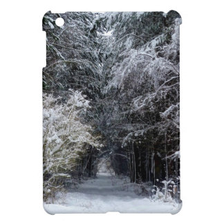 snow landscape iPad mini case