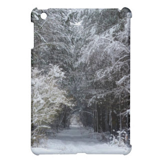 snow landscape iPad mini cover