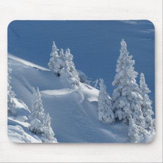 Snow Landscape Mouse Pad