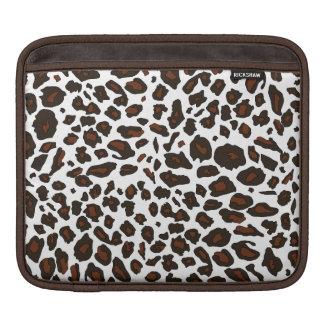Snow Leopard Animal Print iPad Sleeve
