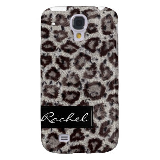 Snow Leopard Animal Print iPhone3G Cover