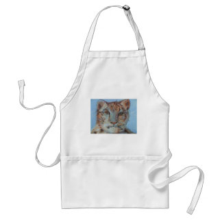 Snow Leopard Adult Apron