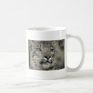 Snow Leopard Basic White Mug
