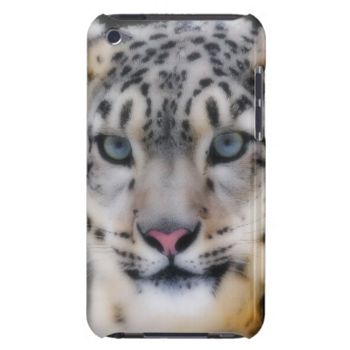 Snow Leopard Barely There iPod Cases