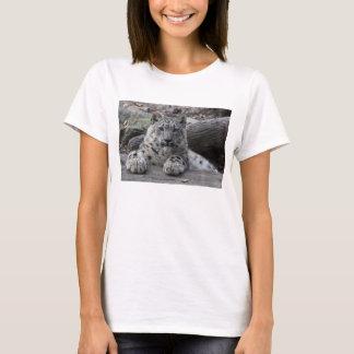 Snow Leopard Cub Sitting T-Shirt