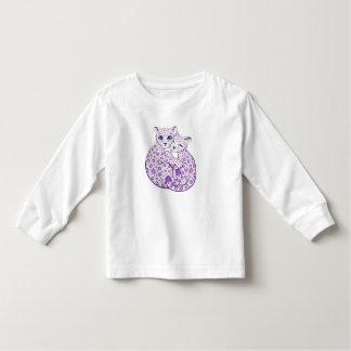 Snow Leopard Cubs Cuddling Art Shirt