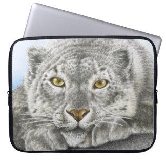 Snow Leopard Electronics Bag