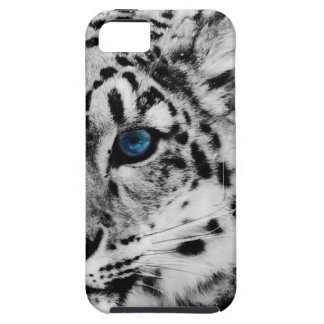snow Leopard eye iphone case