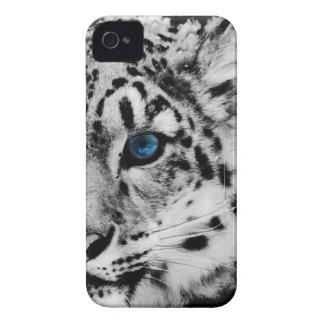 snow Leopard eye iphonecase iPhone 4 Case-Mate Case