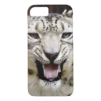 Snow Leopard Face iPhone 8/7 Case