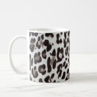 Snow Leopard Fur Coffee Mug