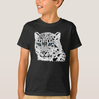 Snow leopard graphic T-Shirt