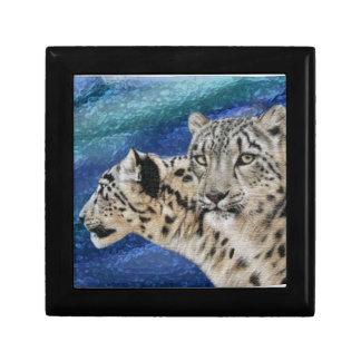 Snow Leopard Habitat Gift Box