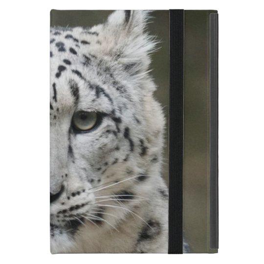 Snow Leopard iPad Mini Case