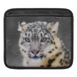 Snow Leopard iPad Sleeves