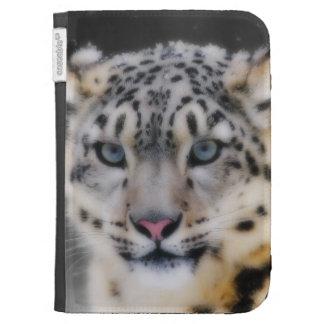 Snow Leopard Kindle Cover