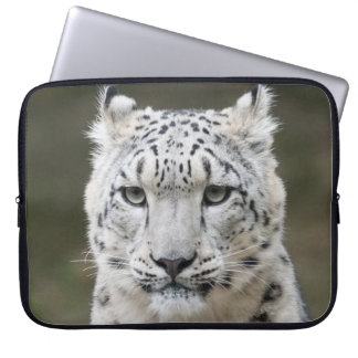 Snow Leopard Laptop Sleeve