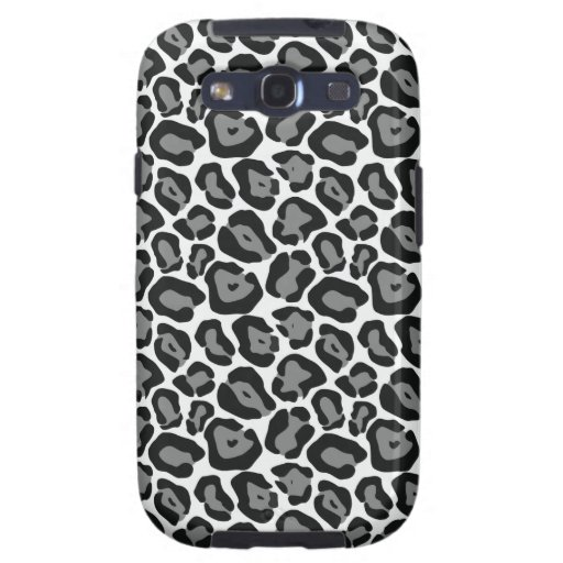 Snow Leopard Pattern Galaxy SIII Covers