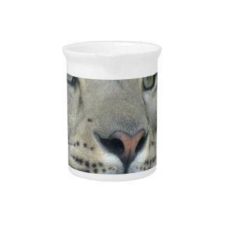 snow leopard pitcher