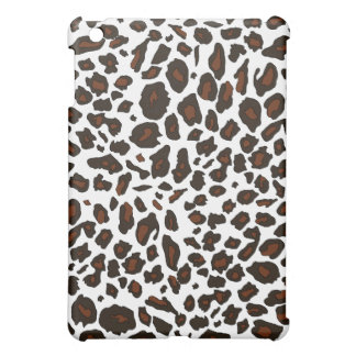 Snow Leopard Print iPad Mini Case