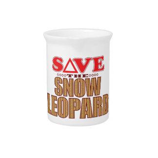 Snow Leopard Save Pitcher