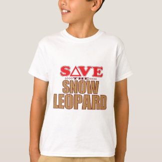 Snow Leopard Save T-Shirt