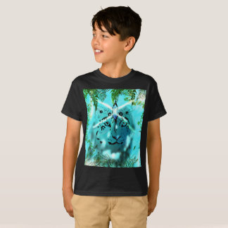 Snow leopard Spirit Kids T-Shirt