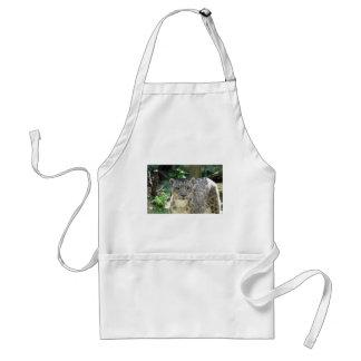 Snow leopard standard apron