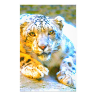 Snow Leopard Stationery