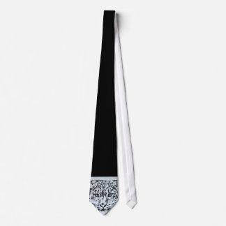 Snow Leopard Tie