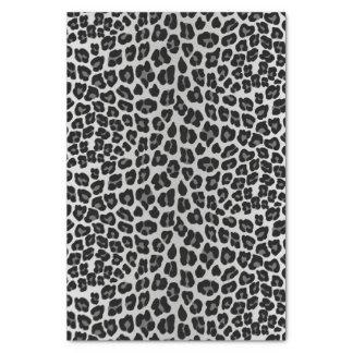 Snow leopard tissue paper