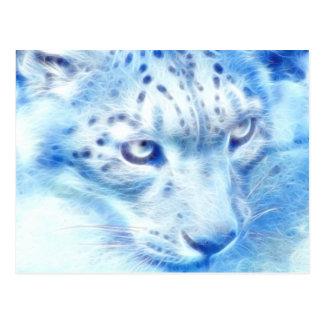*Snow Leopard* Wild Spirit Postcard