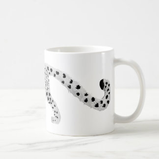 Snow Leopard with Snowflake Markings Mug
