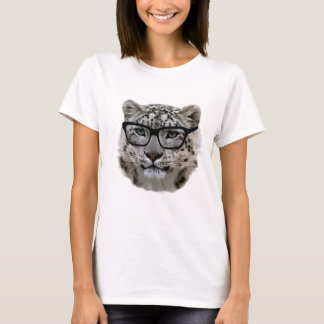 Snow Leopard with Spectacles! T-Shirt