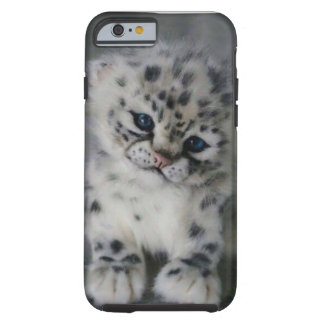 Snow Leopard's Baby Tough iPhone 6 Case