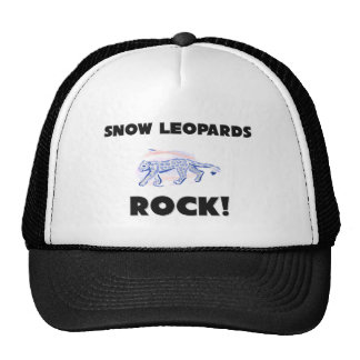 Snow Leopards Rock Cap