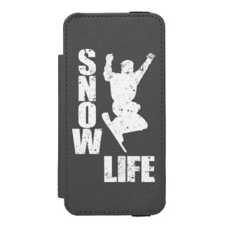 SNOW LIFE #3 (wht) Incipio Watson™ iPhone 5 Wallet Case