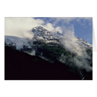 Snow Line Divide Greeting Card