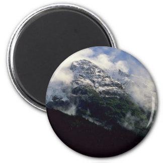 Snow Line Divide Fridge Magnet